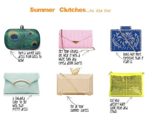summer clutches